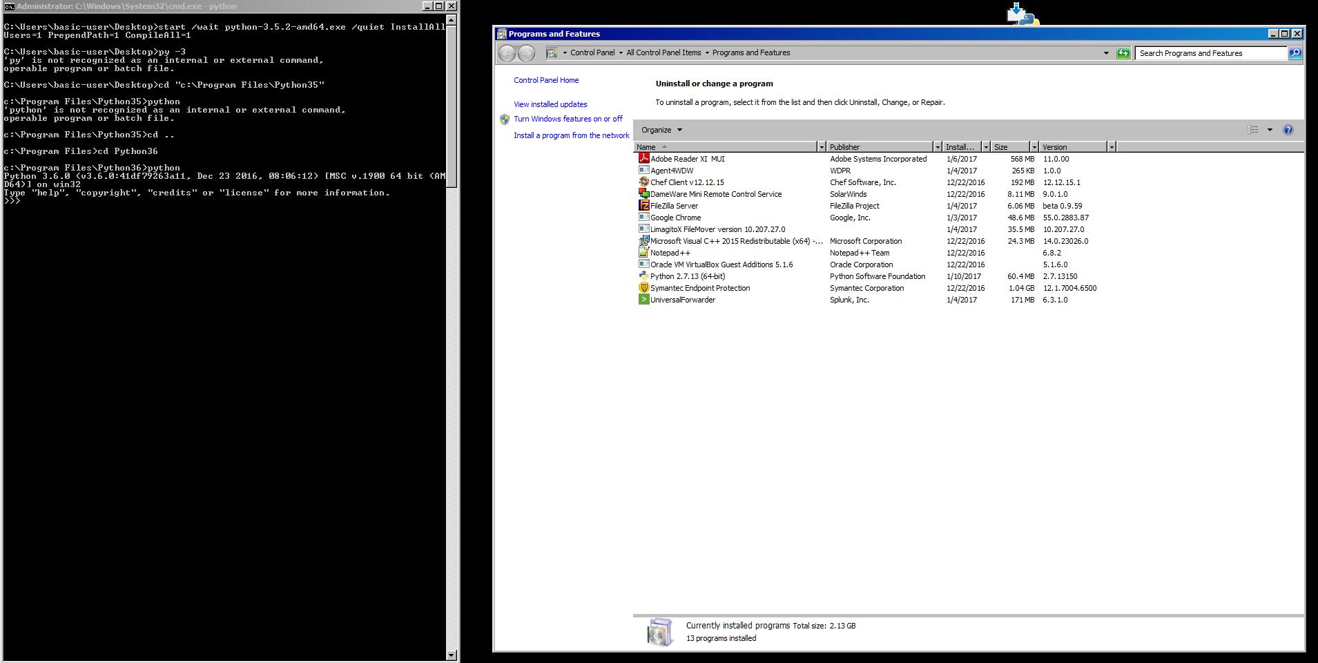 Python 2 7 executable installer | Creating an Executable