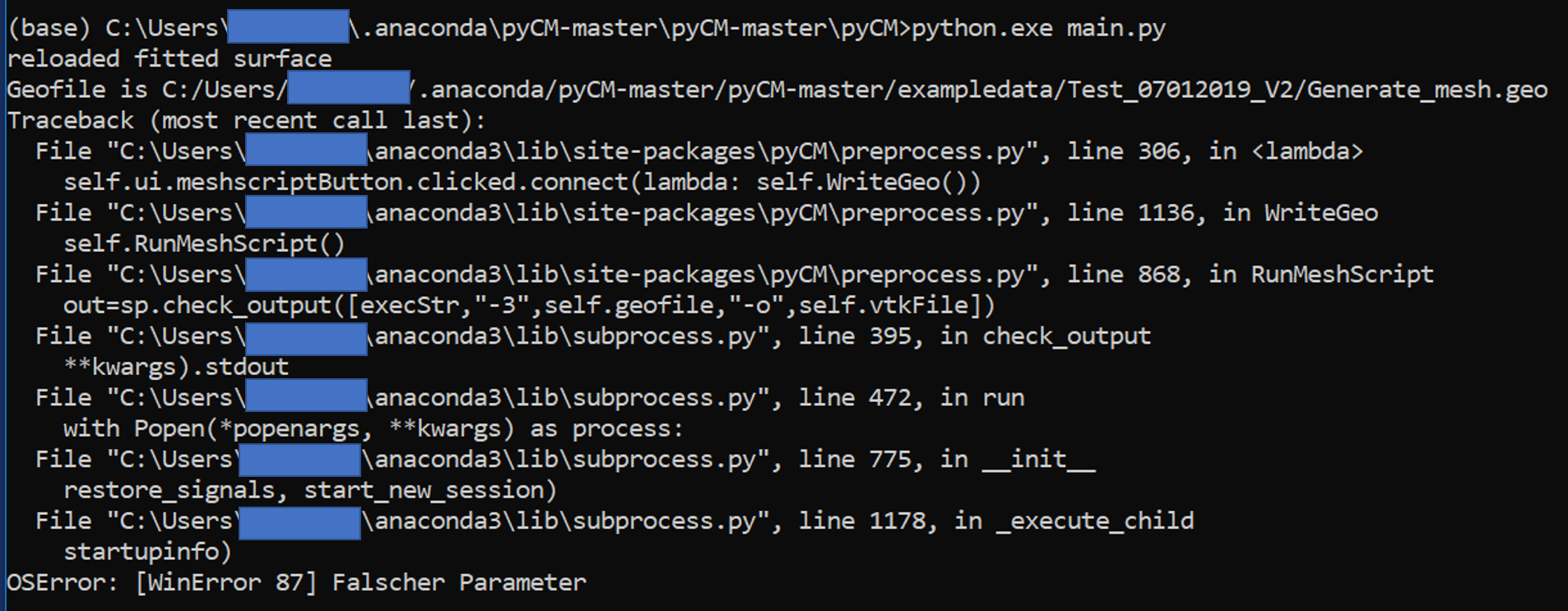 Issue 35678: subprocess check_output(): OSError: [WinError