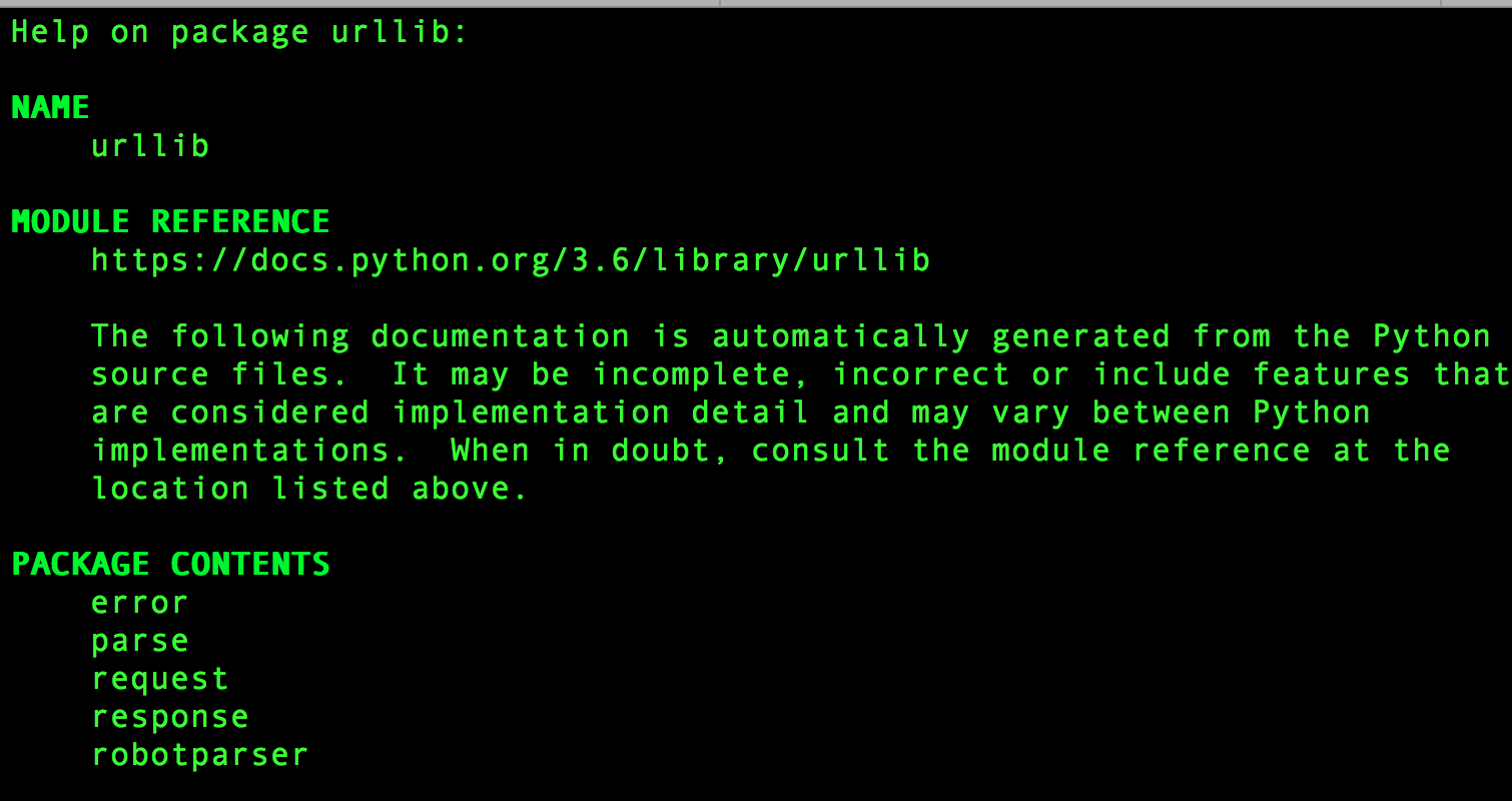 Issue 36701: module 'urllib' has no attribute 'request' - Python tracker